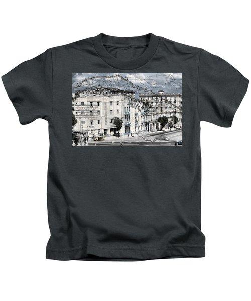 Carte Isle De Cuba Kids T-Shirt