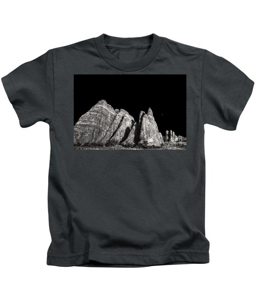 Carved By The Hands Of Ancient Gods Kids T-Shirt