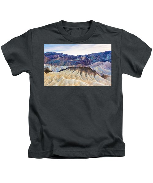 Carved By Time Kids T-Shirt