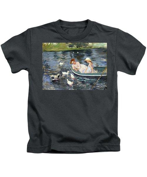 Cassatt: Summertime, 1894 Kids T-Shirt