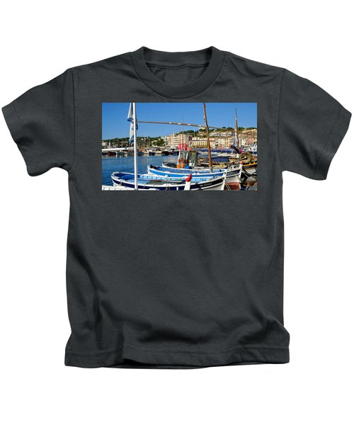 Cassis Harbor Kids T-Shirt