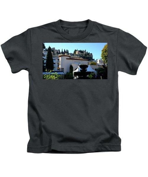 Cassis Town View Kids T-Shirt