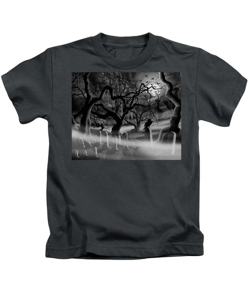 Castle Graveyard I Kids T-Shirt