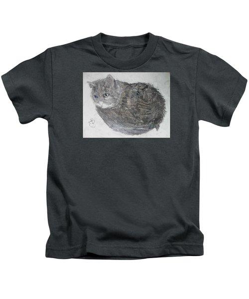 Cat Named Shrimp Kids T-Shirt