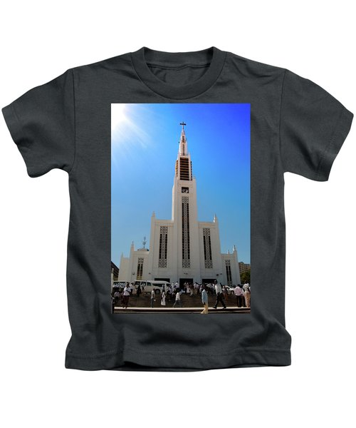 Cathedral Of The Sun Kids T-Shirt