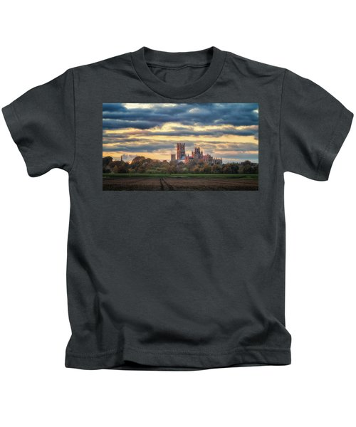 Cathedral Sunset Kids T-Shirt