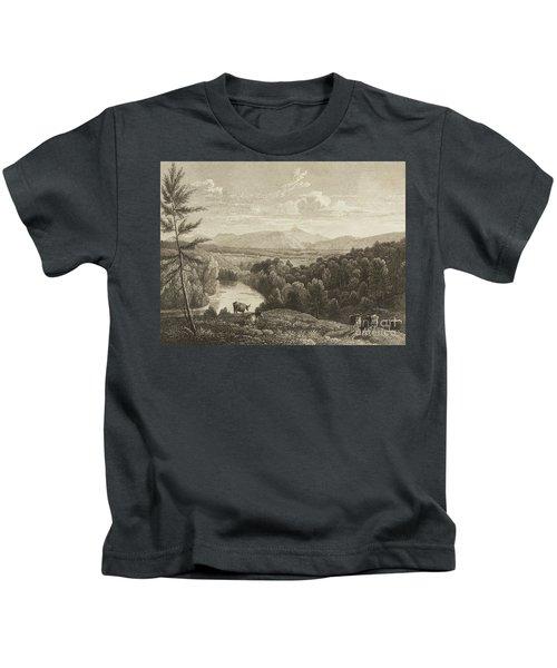 Catskill Mountains Kids T-Shirt