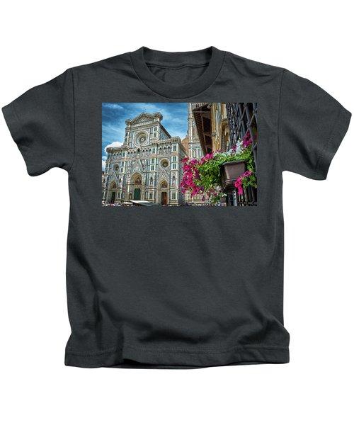 Cattedrale Di Santa Maria Del Fiore Kids T-Shirt