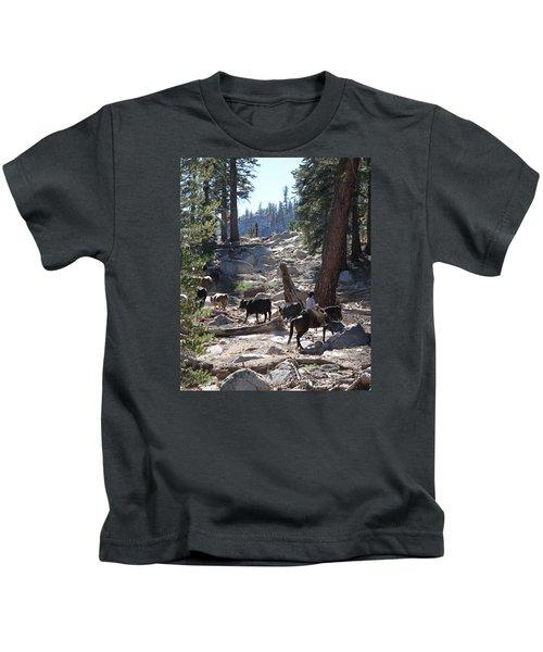 Cattle Climbing Kids T-Shirt
