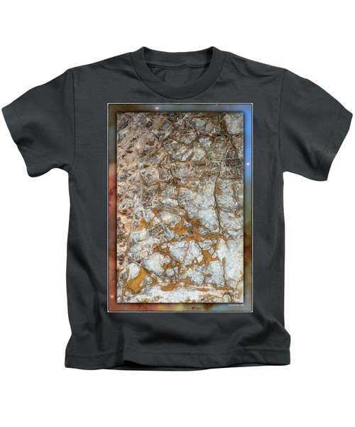 Cave Abstraction.... Kids T-Shirt