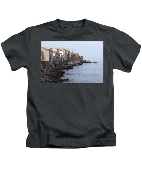 Cefalu, Sicily Italy Kids T-Shirt