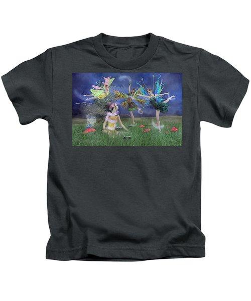 Celebration Of Night Alice And Oz Kids T-Shirt