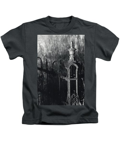 Cemetery  Fence Kids T-Shirt