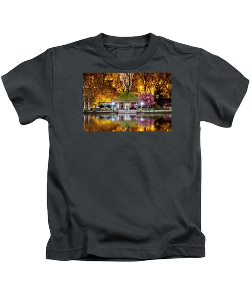 Central Park Memorial Kids T-Shirt by Az Jackson