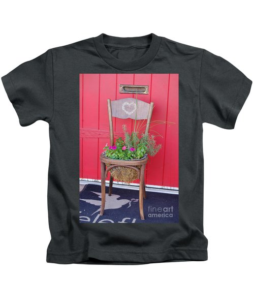 Chair Planter Kids T-Shirt