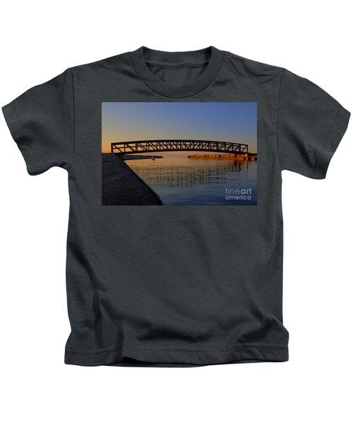 Channel Sunset Kids T-Shirt