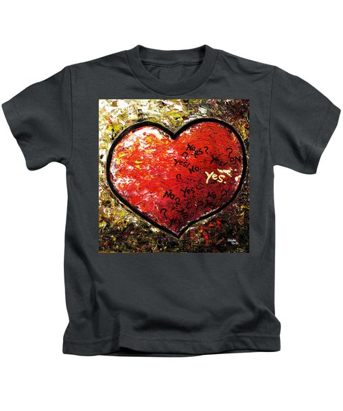 Chaos In Heart Kids T-Shirt