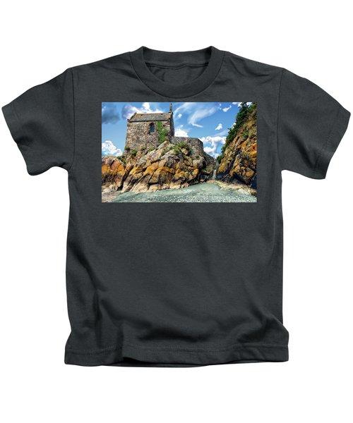 Chapel Saint-aubert Kids T-Shirt