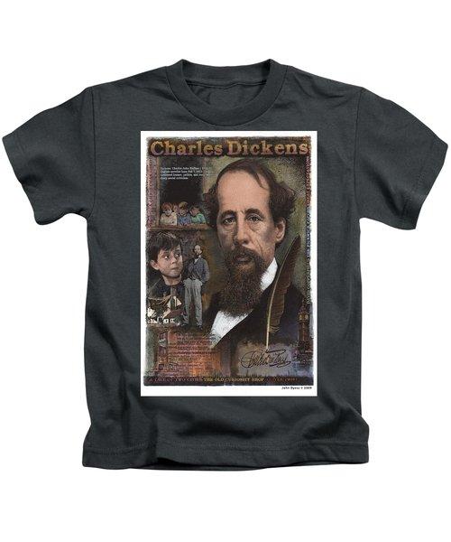 Charles Dickens Kids T-Shirt