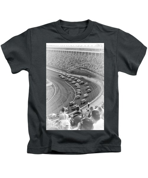 A Day At The Racetrack Kids T-Shirt