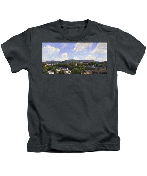 Charlottesville Looking East Kids T-Shirt