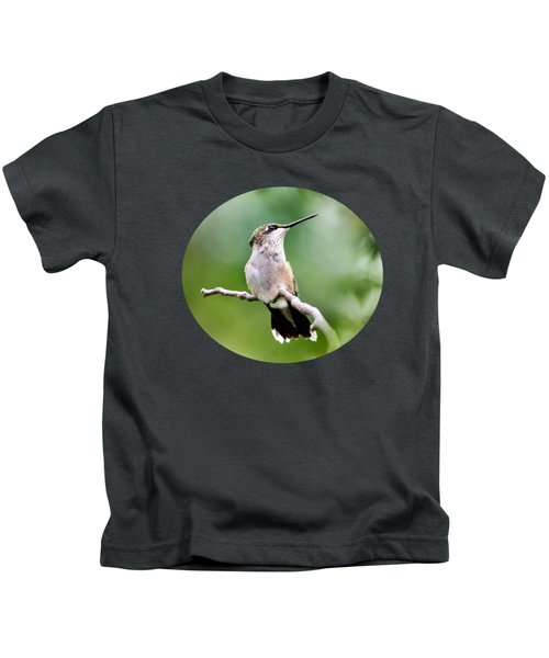 Charming Hummingbird Kids T-Shirt