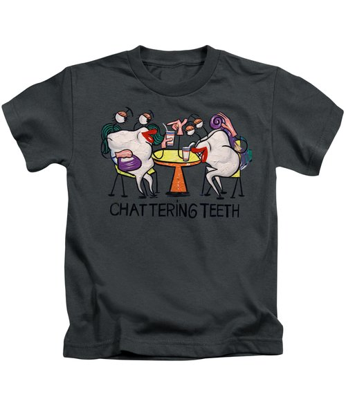 Chattering Teeth T-shirt Kids T-Shirt