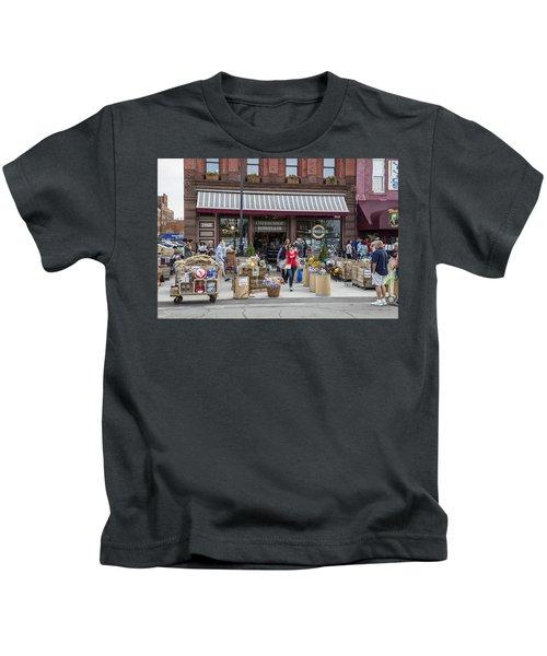 Cheese Shop In Detroit  Kids T-Shirt