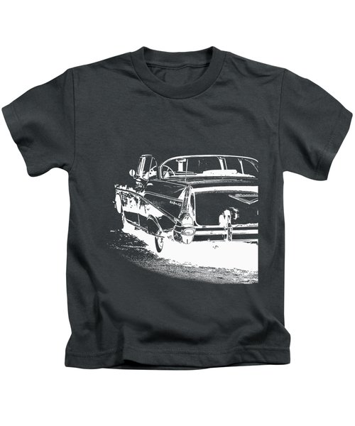 Chevy Belair Tee Kids T-Shirt