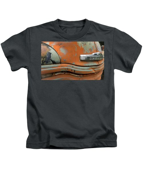 Chevy Front Kids T-Shirt