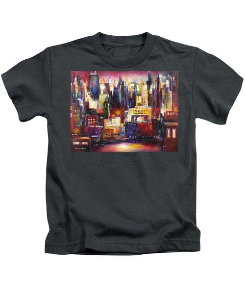 Chicago City View Kids T-Shirt