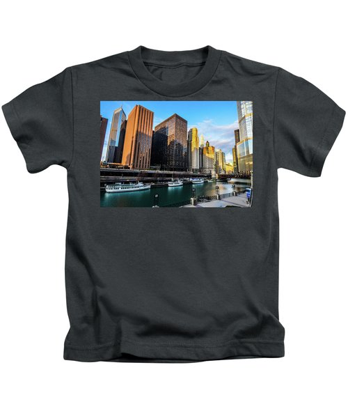 Chicago Navy Pier Kids T-Shirt