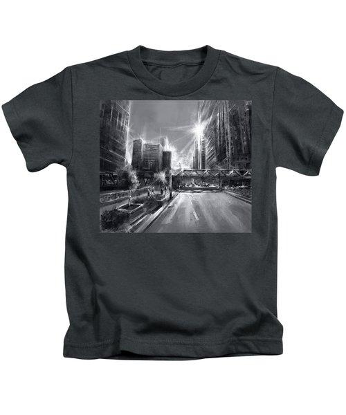 Chicago Street 4 Kids T-Shirt