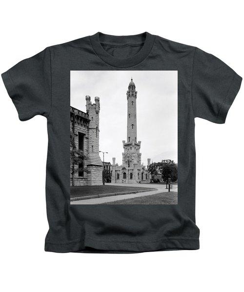 Chicago Water Tower 1933 Kids T-Shirt