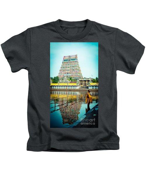 Chidambaram Temple Lord Shiva India Kids T-Shirt