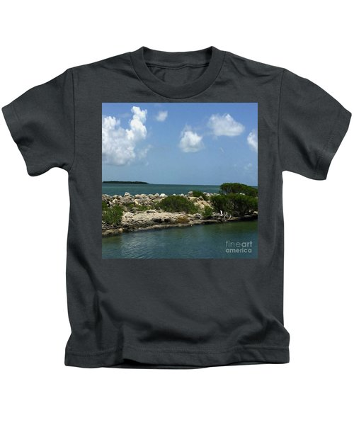 Chilling On The Water Kids T-Shirt