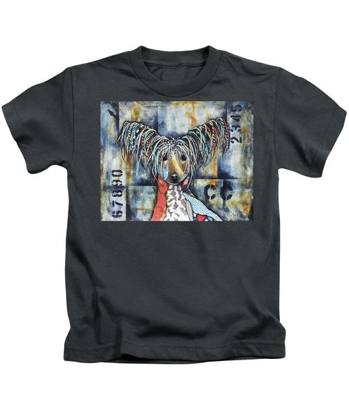 Chinese Crested Kids T-Shirt