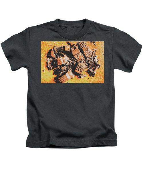 Chocolate Demolition Derby Kids T-Shirt