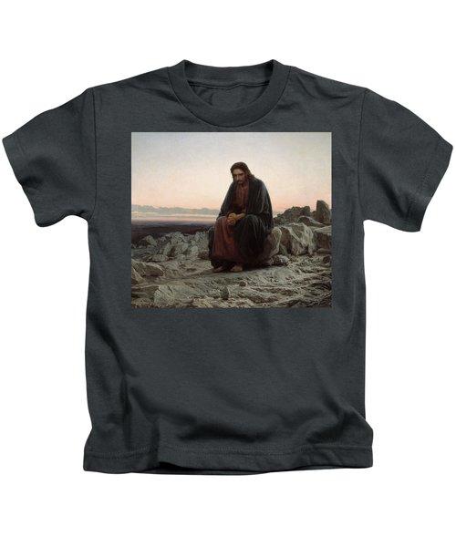 Christ In The Desert Kids T-Shirt