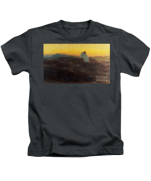 Christ In The Wilderness Kids T-Shirt