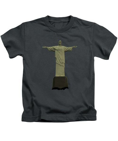 Christ The Redeemer Brazil Kids T-Shirt