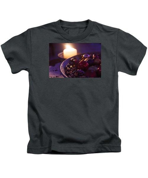 Christmas Candlelight Kids T-Shirt