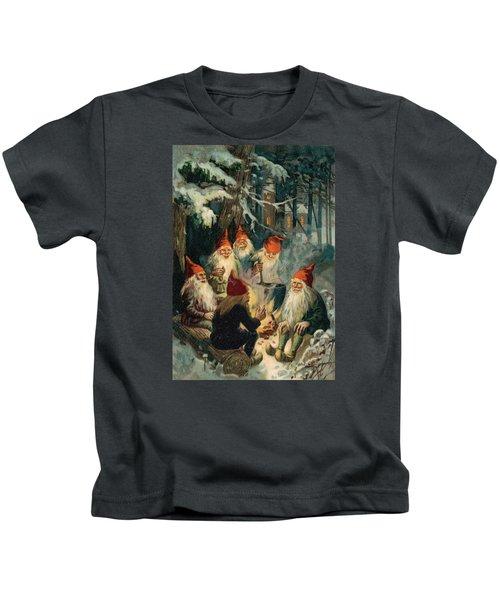 Christmas Gnomes Kids T-Shirt