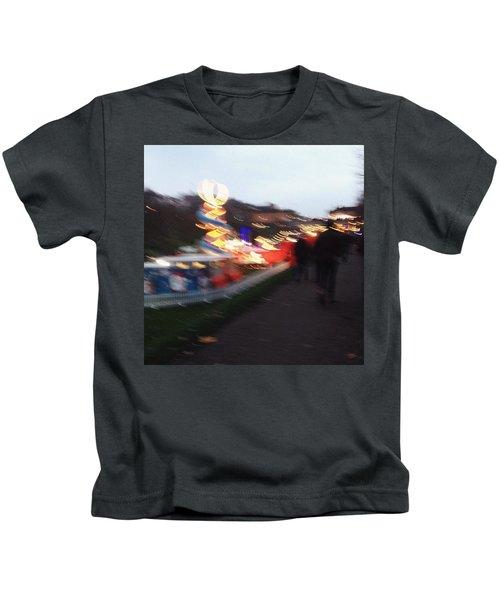 Christmas In Edinburgh Kids T-Shirt