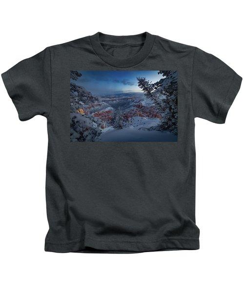 Christmas Light Kids T-Shirt