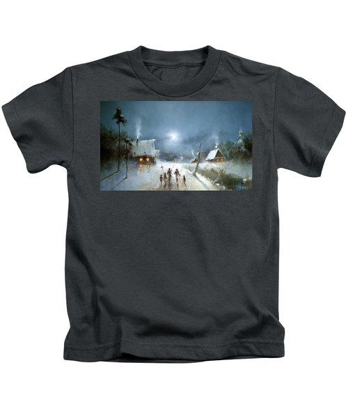 Christmas Night Kids T-Shirt