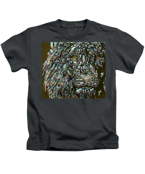 Chrome Lion Kids T-Shirt