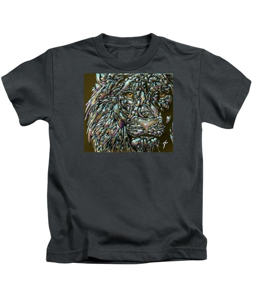 Chrome Lion Kids T-Shirt