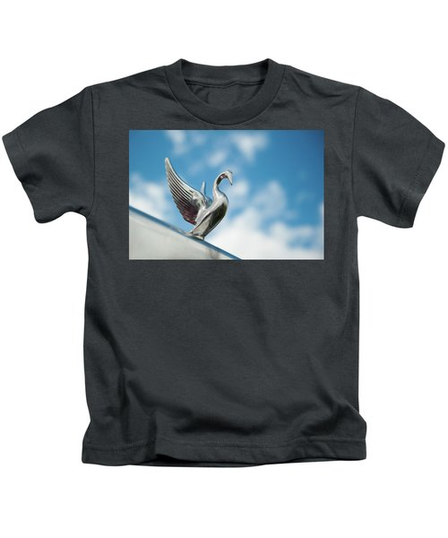 Chrome Swan Kids T-Shirt