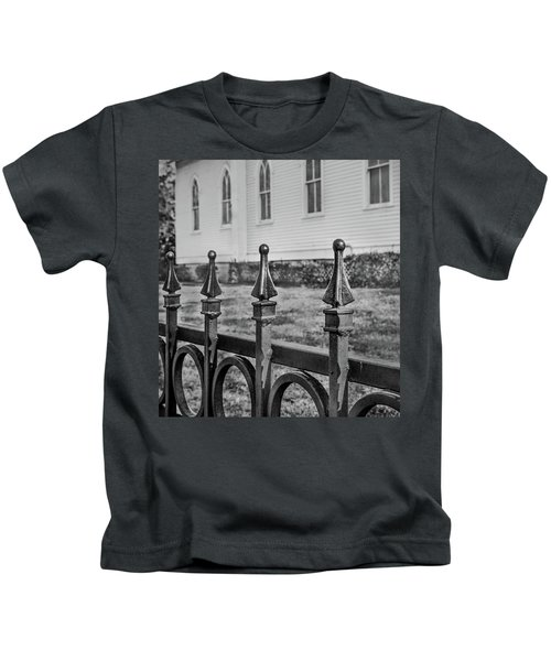Church Fence Kids T-Shirt